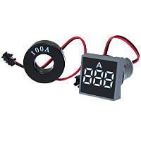 Индикатор амперметра белый 100А ST897 W