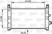 Радиатор охлаждения двигателя Valeo 731299 на Ford Fiesta / Форд Фиеста