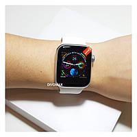 Смарт часы IWO8 silver серебро 44мм (Apple Watch Series4)
