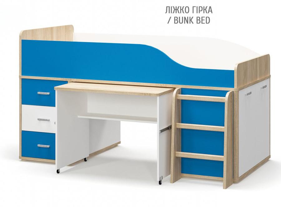 Кровать горка ЛЕО Мебель-Сервис