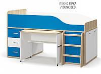 Кровать горка ЛЕО Мебель-Сервис, фото 1