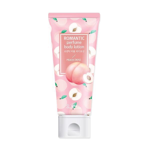 Парфюмированный лосьон для тела Pretty Skin Romantic Perfume Body Lotion Peach 200 мл