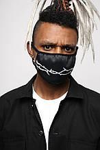 Маска для лица черная Шипы от бренда ТУР