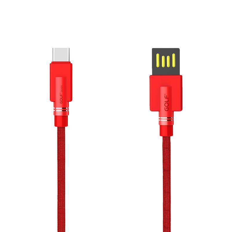 USB кабель Golf Shuttle Type-C Red (GC-54t)