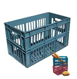 Ящик пластиковий хлібний 360*366*660 АКЦІЙНИЙ, Од