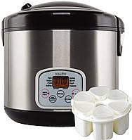 Мультиварка MAGIO МG-423 900Вт,5л.,10прогр.Шеф-повар, керам. чаша., стаканчики для йогуртов