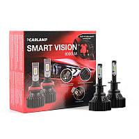 Светодиодные автолампы CARLAMP Smart Vision H1 8000 Lm 6500 K (SM1)