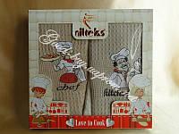 Набор кухонных полотенец Nilteks вафелька кухня 4шт: 40х70 Турция