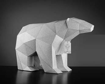 Papercraft Белый медведь