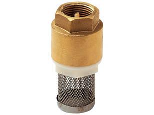 """Обратный клапан 1"""" с фильтром сетка REMER"""