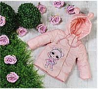 Куртка весна-осень 778, размеры 86-104 (1-3 лет), цвет персик, фото 1