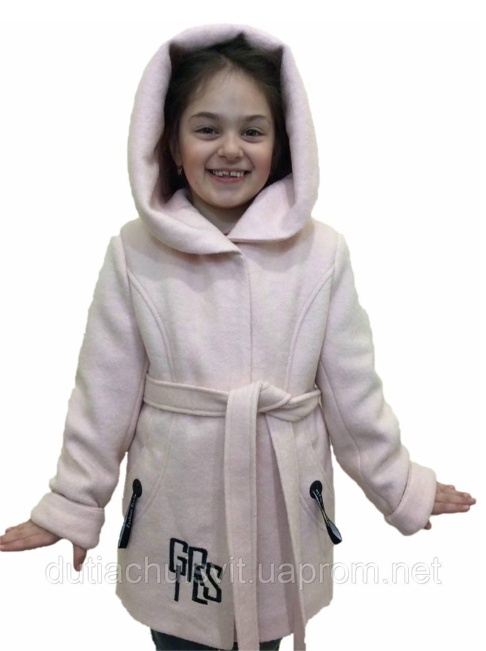 """Підліткове вовняне пальто """"Girls"""" від виробника"""