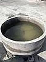 Каналізаційне кільце з днищем   Н900 * Ø1500 * Ø1700, фото 1