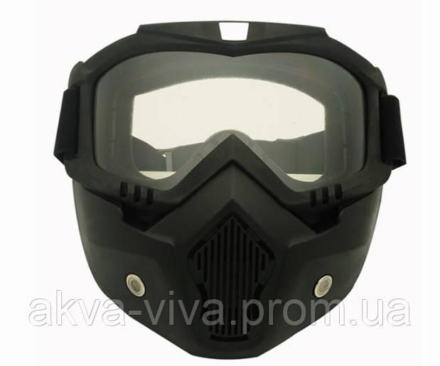 Очки на все лицо тактические, велосипедные, мотоциклетные (МГ-1019)