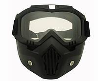Очки на все лицо тактические, велосипедные, мотоциклетные (МГ-1019), фото 1