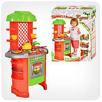 Детская игрушечная мебель Кухня арт.0847 (салатово-оранжевая)