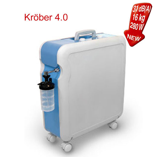 Концентратор кисню Kröber 4.0 Premium (Німеччина)