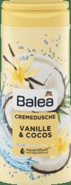 Гель для душу BALEA Dusche+Creme Vanille und Cocos