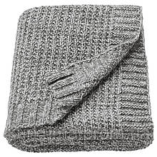 IKEA DUNANG Плед, серый  (403.522.79)