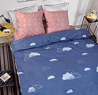 Двуспальное постельное белье бязь голд - Облака