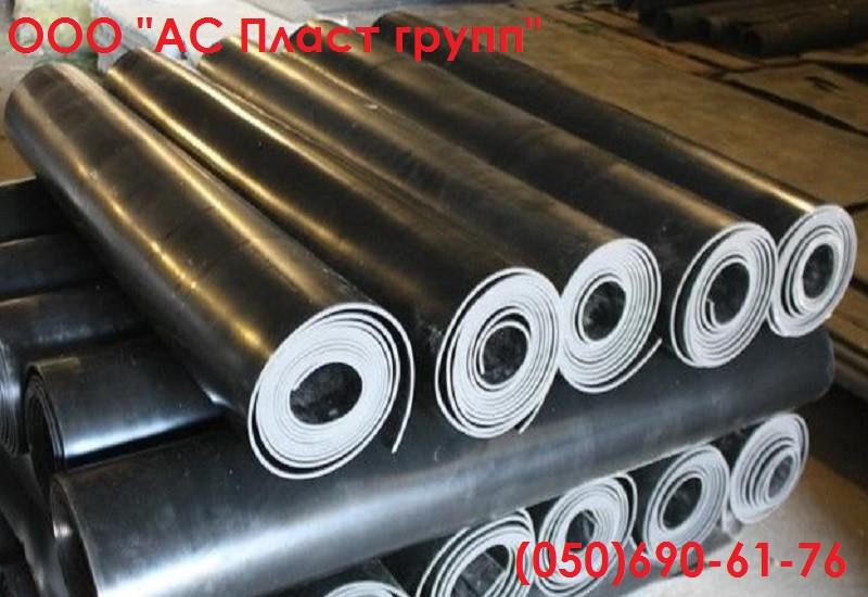 Техпластина ТМКЩ, рулонная, толщина 8.0 мм, ширина 1300 мм.