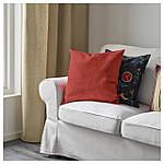 IKEA VIGDIS Наволочка на декоративную подушку, красно-оранжевый  (503.265.29), фото 2