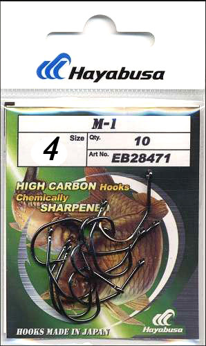 Крючки карповые Hayabusa m-1 #4