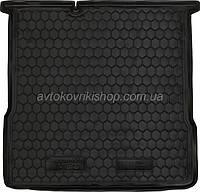 Резиновый коврик багажника Chevrolet Aveo 2012- (седан) Avto-Gumm