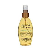 Масло-спрей невесомое сухое OGX Argan Oil of Morocco 118ml
