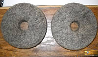 Войлочные полировочные круги плотные