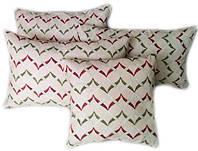 Декоративная подушка Зиг-заг