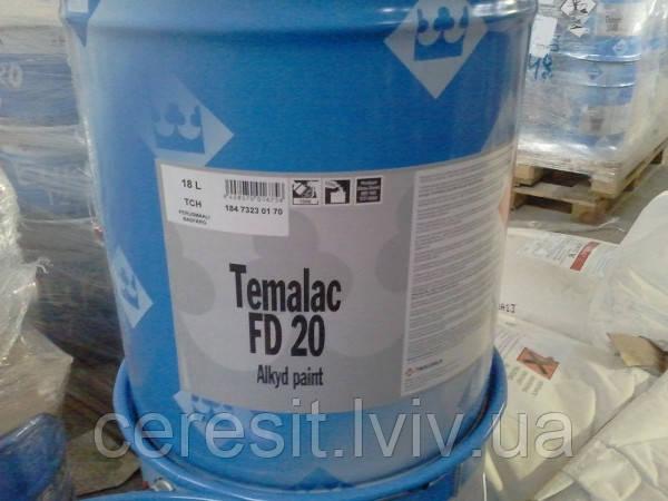 ТЕМАЛАК ФД 20 TCH 9л полуматова алкідна фарба