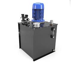Маслостанция c электромагнитным управлением  (150 бар, 25л/мин, 7,5 кВт)