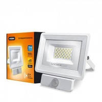 Прожектор LED VIDEX 30W (FE) 5000K 220V White сенсорний