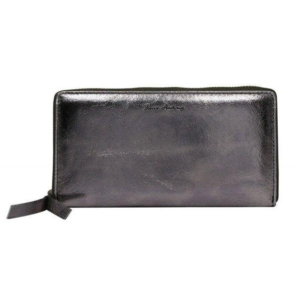 Шкіряний гаманець Pierre Andres N511-METALLIC