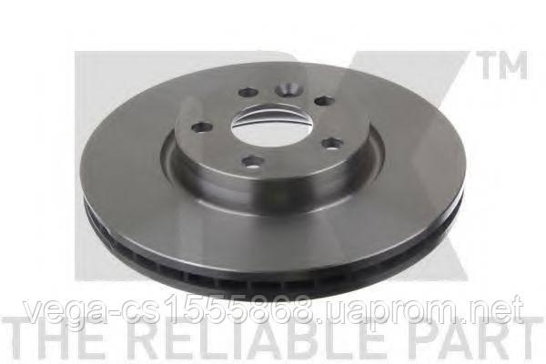 Тормозной диск NK 202573 на Ford S-MAX / Форд С-Макс