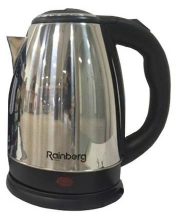 Електричний чайник Rainberg RB-805 з дисковим нагрівальним елементом, фото 2