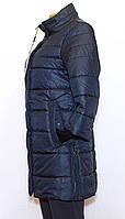 Демисезонная куртка трикотажный рукав (42-56)