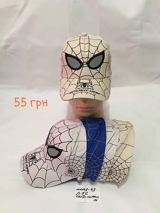 Кепка для мальчика Spider-man,р.52,коттон, фото 2
