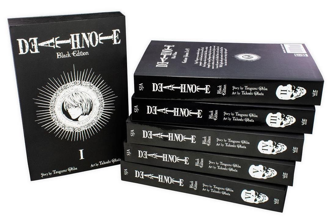 Death Note. Black Edition (комплект из 6 книг)