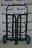 Візок на колесах для прибирання вулиць Kolvi ТК-250-90, фото 8