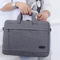 Сумка портфель для ноутбука чехол LMD Classic 15.6'' дюймов через плечо 3 цвета