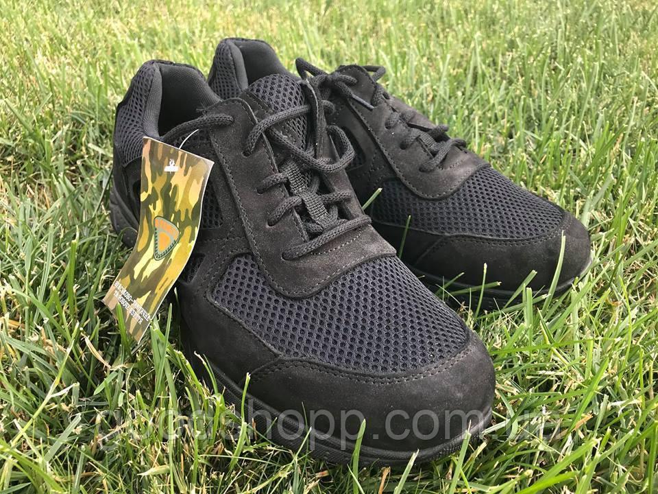 c4b613d192f5cd Літні тактичні кросівки Нубук Чорні сітка - Інтернет-магазин