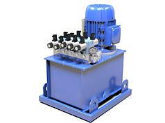 Маслостанция c электромагнитным управлением  (180 бар, 30 л/мин, 11 кВт)