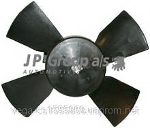 Вентилятор системы охлаждения двигателя JP group 1299100200 на Opel Corsa / Опель Корса