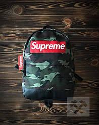 Спортивный рюкзак Supreme камуфляжного цвета (люкс копия)