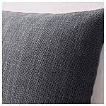 IKEA HILLARED Наволочка на декоративную подушку, антрацит  (603.623.76), фото 2