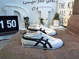 """Кроссовки Asics Gel x Onitsuka Tiger """"White/Black"""" , реплика, хорошее качество, Акция!"""
