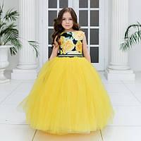 c844897045b Желтое вечернее платье в категории платья и сарафаны для девочек в ...