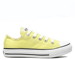 """Кеды Converse Chuck Taylor All Star Low """"Light Yellow"""" , реплика, хорошее качество, Акция!"""